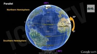 Download Earth, Parallels and Meridians, Latitude and Longitude [IGEO TV ] Video