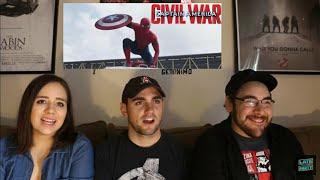 Download Captain America CIVIL WAR - 2nd Trailer Reaction Video