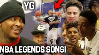 Download Ace Family & YG watch #1 Team in California! Scottie Pippen IMPRESSED Video