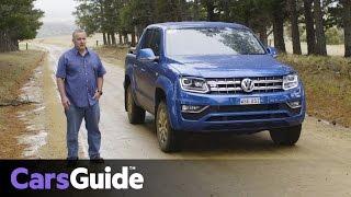 Download Volkswagen Amarok TDI550 V6 2017 review   first Australian drive video Video