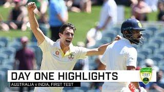 Download Cummins, Khawaja lead Aussie charge | First Domain Test Video