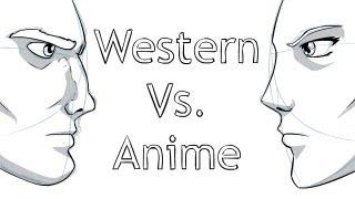 Download Drawing: Western Vs. Anime/Manga Video