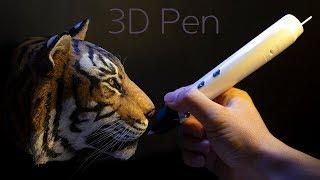Download [3D pen] 호랑이 만들기. Making a tiger. Video