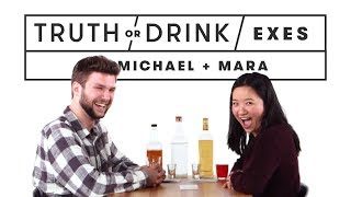 Download Exes Play Truth or Drink (Michael & Mara) | Truth or Drink | Cut Video