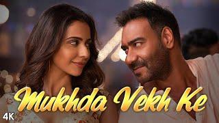 Download Mukhda Vekh Ke :De De Pyaar De | Ajay D Tabu Rakul l Surjit Bindrakhia Mika S Dhvani B Manj M Kumaar Video