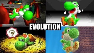 Download EVOLUTION OF YOSHI'S DEATHS & GAME OVER SCREENS (1990-2017) NES, SNES, N64, GBA, DS, Wii U & 3DS Video