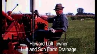 Download Laying field drainage tile in Pocahontas County, Iowa Video