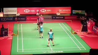 Download Finals MD   GIDEON/SUKAMULJO (INA) [1] vs ONG/TEO (MAS)   Badminton Malaysia Master 2019 Video