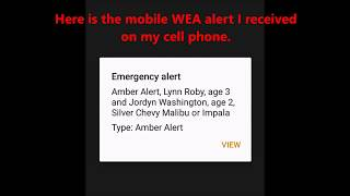 Download Child Abduction Emergency (AMBER Alert) in Illinois on NWR & TV (No EAS) 3/14/18 Video