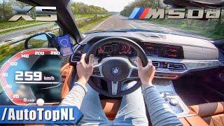 Download NEW! BMW X5 M50d G05 3.0 QUAD-TURBO 259km/h AUTOBAHN POV TOP SPEED by AutoTopNL Video