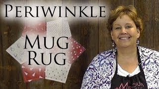Download Periwinkle Mug Rug: An Easy 4th of July Quilting Project Video