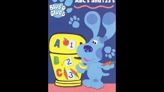 Download Closing to Blue's Clues ABC's and 123's 1999 VHS Video