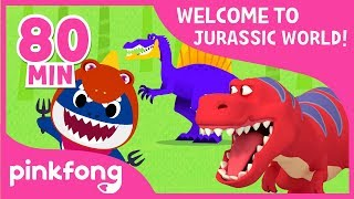 Download Tyrannosaurus Rex and more! | Dinosaur Songs & Stories | +Compilation | Pinkfong Songs for Children Video