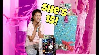 Download Klai's BIRTHDAY present Treasure HUNt! What Klai got for her 15th BIRTHDAY! Video