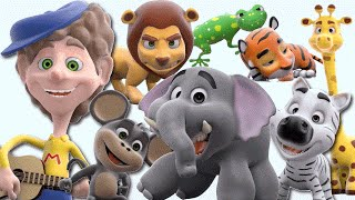 Download What Do You See? Song Wild Animals | 3D Rhymes | Learn English Kids Video