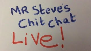Download Mr Steve's English chit chat live - I like cars - I like big cars Video