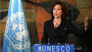 Download Audrey Azoulay confirmée à la tête de l'Unesco Video