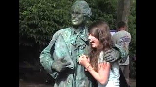 Download Bronze Living Statues breaking the rules. Video