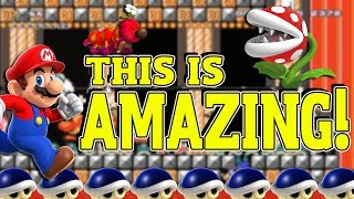 Download Shell Train II - Super Mario Maker Level Showcase - Awesome Level Video