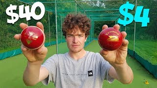 Download £4 Cricket Ball vs Expensive Dukes | Can You SPOT The Difference? Video