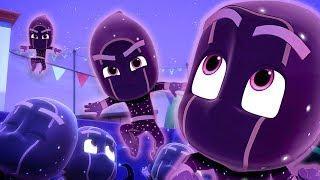 Download PJ Masks Full Episodes   Ninjalinos Special 🌟  Night Ninja Strikes!   PJ Masks Official #136 Video