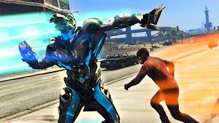 Download THE FLASH vs SAVITAR, THE GOD OF SPEED!! (GTA 5 Mods, Superhero Battles #9) Video