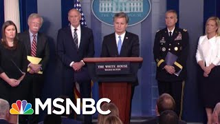 Download White House Warns About Russia Then President Donald Trump Says It's A Hoax! | The Last Word | MSNBC Video