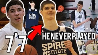 Download What Happened To LaMelo Ball's 7'7″ Teammate Robert Bobroczky at Spire! ″He NEVER PLAYED!″ Video