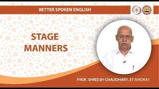 Download Stage Manners Video