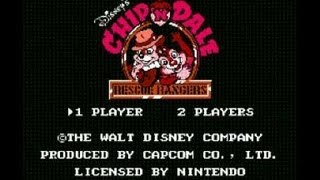Download Chip n Dale Rescue Rangers NES Walkthrough HQ High quality Video