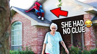 Download SPIDERMAN DING DONG DITCH PRANK!! (this didn't end well) Video