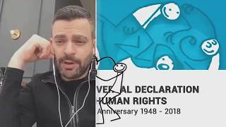 Download Jeremy Waiser, Canada, reading article 4 of the Universal Declaration of Human Rights Video