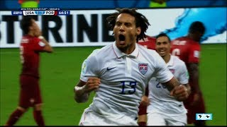Download WORLD CUP - USA Jermaine Jones Ties Up Portugal | LIVE 6-22-14 Video