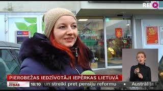 Download Pierobežas iedzīvotāji iepērkas Lietuvā Video