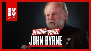 Download John Byrne On Reinventing Superman & Lois Lane, And Superman Shaving (Behind The Panel)   SYFY WIRE Video