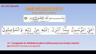 Download AMENERRASULÜ EZBERLE (5 TEKRARLI NAMAZ SÜRELERİ) Video