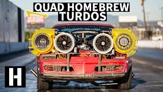Download Homemade QUAD Turdo Setup: Will it Work on Our Now Fixed-Up Firebird? Video