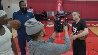 Download The Professor Teaches James Harden a Signature Move 'The Teleport' Video