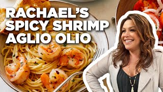 Download Rachael Ray Makes Spicy Shrimp Aglio Olio | Food Network Video
