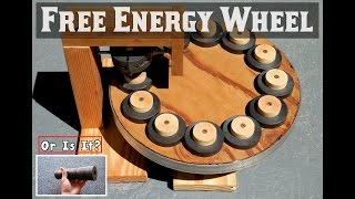 Download FREE ENERGY WHEEL ~ Using Ring Magnets ~ EXPOSED! Video