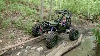 Download Mini Rock Crawler Built for a 5 year old Video