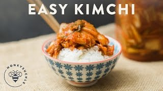 Download Easy Kimchi Recipe - Honeysuckle Video