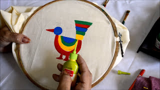 Download How to do? Madhubani painting in Saree.. Video