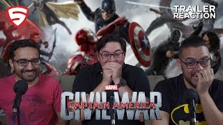 Download Marvel's Captain America: Civil War - Trailer 2 Reaction Video