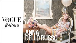 Download Anna Dello Russo : Crazy Day during Milan Fashion Week | #VogueFollows | VOGUE PARIS Video
