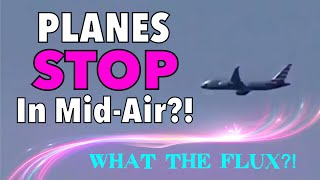 Download PLANES STOP IN MID-AIR (RE-UPLOAD) WHAT THE FLUX? Quantum Time Hovering? Mandela Effect? July 2017 Video
