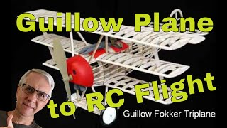 Download How to Convert a Guillow Model Plane to Radio Control Flight Video