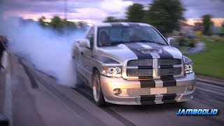 Download Dodge Ram SRT-10 - Mean V10 Sound, Even Meaner Burnout! Video