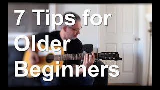 Download 7 Tips for Older Beginners | Tom Strahle | Pro Guitar Secrets Video