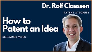Download How to Patent an Idea #patent #rolfclaessen Video
